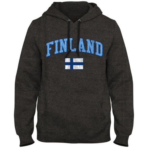 Finland MyCountry Vintage Premium Hoodie - Twisted Charcoal
