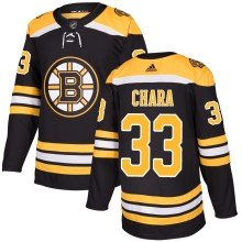 Zdeno Chara Boston Bruins adidas NHL Authentic Pro Home Jersey - Pro Stitched