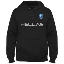 Greece MyCountry Express Twill Home Field Hoodie - Black