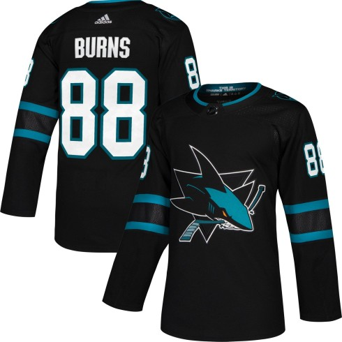 Brent Burns San Jose Sharks adidas NHL Authentic Pro Alternate Jersey - Pro Stitched