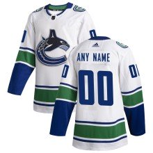 Vancouver Canucks ANY NAME adidas NHL Authentic Pro Road Jersey - Pro Stitched