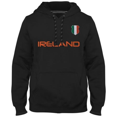 Ireland MyCountry Express Twill Home Field Hoodie - Black