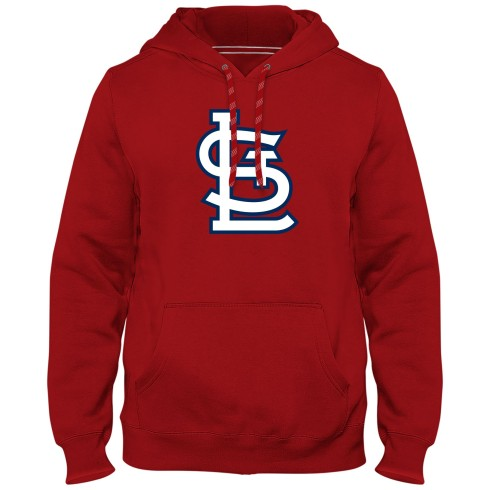 St. Louis Cardinals MLB Express Twill Logo Hoodie - Red
