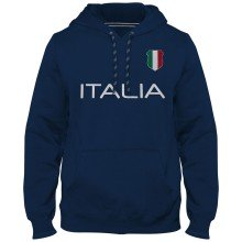 Italy MyCountry Express Twill Home Field Hoodie - Navy