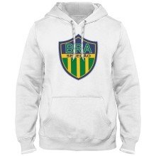 Brazil MyCountry Express Twill Logo Hoodie - White