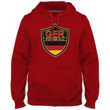 Germany MyCountry Express Twill Logo Hoodie - Red