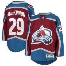 Nathan MacKinnon Colorado Avalanche NHL Premier Youth Home Replica Hockey Jersey