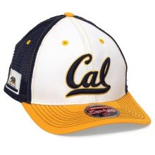 California Golden Bears NCAA Zephyr Side Patch Trucker Meshback Cap | Adjustable