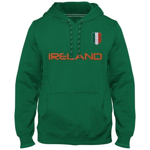 Ireland MyCountry Express Twill Home Field Hoodie - Green