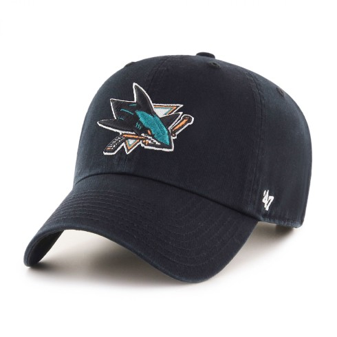 San Jose Sharks NHL `47 Clean Up Primary Cap | Adjustable