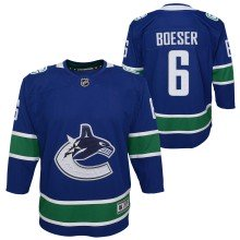 Brock Boeser Vancouver Canucks NHL Premier Youth Replica Home Hockey Jersey