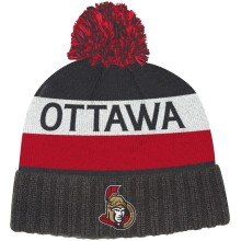 Ottawa Senators adidas NHL City Name Cuffed Pom Knit Hat