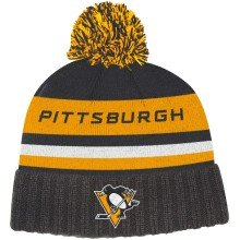 Pittsburgh Penguins adidas NHL City Name Cuffed Pom Knit Hat