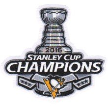 2016 Pittsburgh Penguins Stanley Cup Champions Embroidered Patch