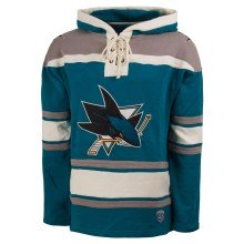 San Jose Sharks NHL OTH Heavyweight Jersey Lacer Hoodie