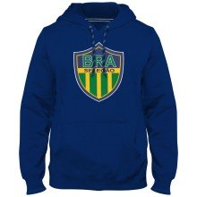 Brazil MyCountry Express Twill Logo Hoodie - Royal