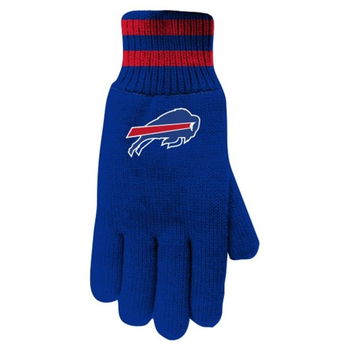Buffalo Bills NFL Insulated Thermal Gloves - Royal