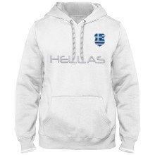 Greece MyCountry Express Twill Home Field Hoodie - White