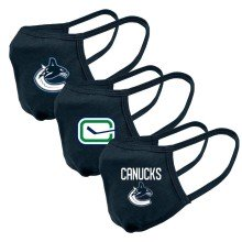 Vancouver Canucks NHL Levelwear Guard-2 Face Cover Mask - 3-pack