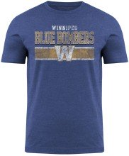 T-shirt Moxie chiné des Blue Bombers de Winnipeg