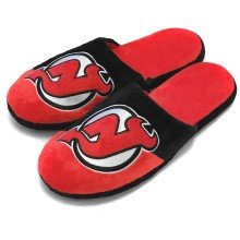 New Jersey Devils NHL Men's Big Logo Slipper 2.0