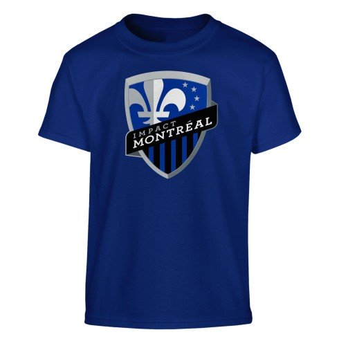 Montreal Impact MLS YOUTH Basic Logo T-Shirt