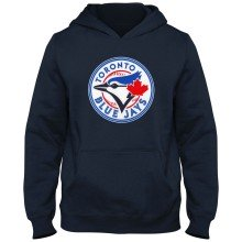 Toronto Blue Jays MLB YOUTH Express Twill Hoodie - Navy