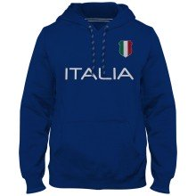 Italy MyCountry Express Twill Home Field Hoodie - Royal