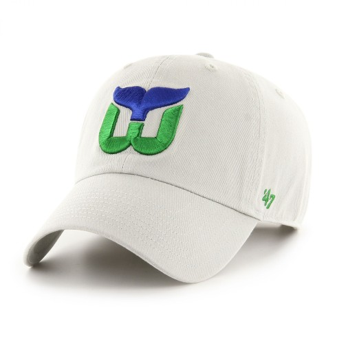Hartford Whalers NHL `47 Clean Up Cap - Storm | Adjustable
