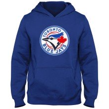 Toronto Blue Jays MLB YOUTH Express Twill Hoodie - Royal