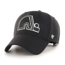 Quebec Nordiques NHL '47 MVP Black and White Cap