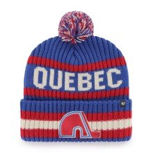 Quebec Nordiques NHL '47 Bering Cuff Pom Knit Hat