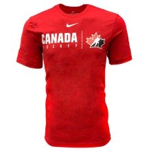Team Canada IIHF 2019 Core Cotton T-Shirt - Red