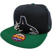 Vancouver Canucks NHL YOUTH Zephyr Jumbo Half Logo Cap | Adjustable