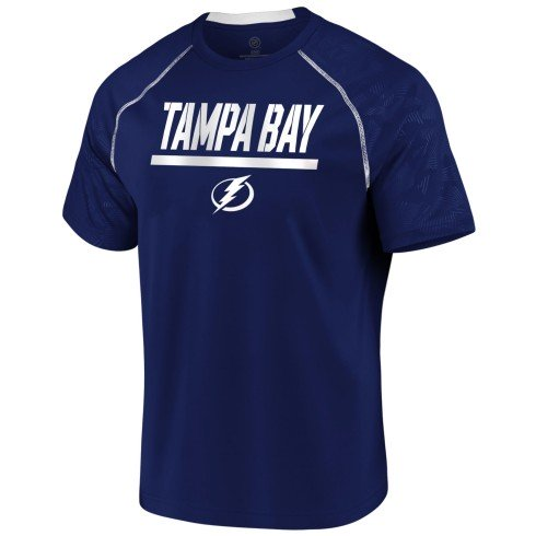 Tampa Bay Lightning NHL Team Mission Synthetic T-Shirt