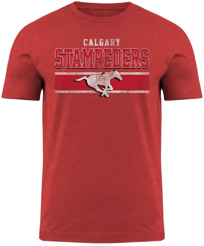 Calgary Stampeders CFL Moxie Heathered T-Shirt