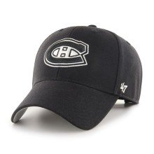 Montreal Canadiens NHL '47 MVP Black and White Cap