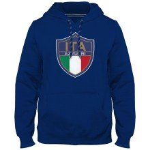 Italy MyCountry Express Twill Logo Hoodie - Royal