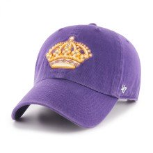 Casquette NHL Vintage Clean Up des Kings de Los Angeles - Mauve