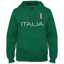 Italy MyCountry Express Twill Home Field Hoodie - Green