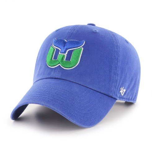 Hartford Whalers NHL `47 Clean Up Cap - Royal | Adjustable