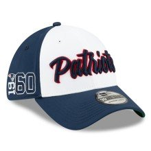 New England Patriots New Era 2019 NFL On Field Home Alternate 39THIRTY Cap -White-Navy