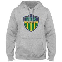 Brazil MyCountry Express Twill Logo Hoodie - Athletic Gray