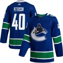 Elias Pettersson Vancouver Canucks adidas NHL Authentic 2019-20 Pro Home Jersey - Pro Stitched