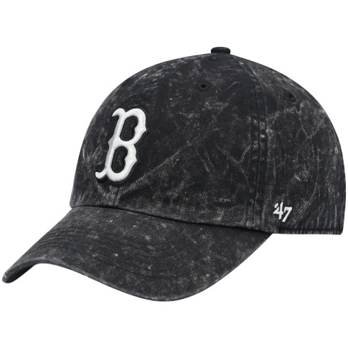 Boston Red Sox MLB '47 Gamut Clean Up Cap - Black | Adjustable