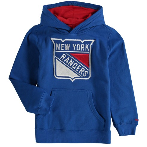 New York Rangers NHL Youth Prime Pullover Hoodie