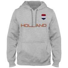 Holland MyCountry Express Twill Home Field Hoodie - Athletic Gray