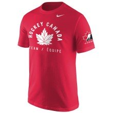 Team Canada IIHF Arch Leaf Core T-Shirt - Red