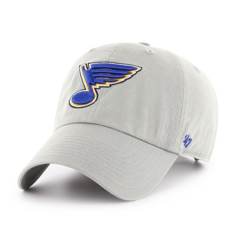 St. Louis Blues NHL `47 Clean Up Cap - Gray | Adjustable