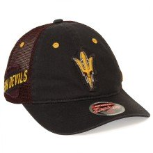 Arizona State Sun Devils NCAA Zephyr Applique Patch Trucker Meshback Cap | Adjustable
